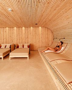 Spa Interior, Luxury Homes Interior, Interior Design, Sauna Steam Room, Sauna Room, Spa Design, Modern Architecture House, Interior Architecture, Spa Hotel