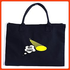 Not Funny Theater Singer Lighting Stage Humor - Tote Bag (*Partner Link)