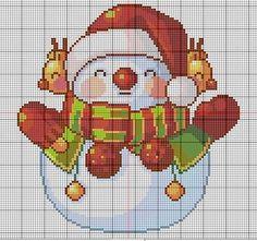 punto_de_cruz navideños - Buscar con Google