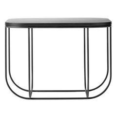Stylizimo - Design Voice - FUWL Cage sidebord, svart/mørk ask