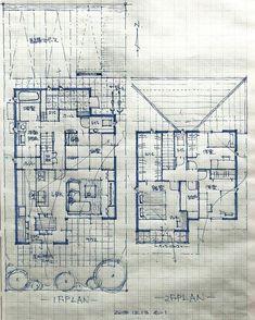 石川 元洋さんはInstagramを利用しています:「・ 38坪4人家族の住まい ・ 北側道路でその他三方を隣家に囲まれた敷地。建物形状を工夫し日当たりを確保、合わせて奥様の家事動線を整え動き安く収納たっぷりの間取りとなりました。南北での風通しにも配慮。 ・ その敷地の特性に合わせた間取り作りを心がけております。 ・…」 Ishikawa, Bungalow House Plans, Small House Plans, Japanese Architecture, Architecture Plan, Wordpress, House Layouts, How To Draw Hands, Instagram