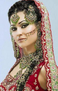 [ Pakistani Wedding Dresses Women Amp Girls Trends Women Pakistani ] - latest colours combination of wedding dresses of pakistani engagement dresses trends for girls trends of pakistani mehndi dresses 2014 for women pakistani bridal walima dres Indian Bridal Makeup, Indian Bridal Wear, Asian Bridal, Bridal Beauty, Pakistani Wedding Dresses, Pakistani Bridal, Bridal Dresses, Wedding Lenghas, Bollywood Wedding