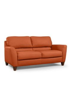 Beau Almafi Leather Sofa