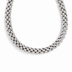 Whether you are going on a classy date or just about to party the night away with friends this Leslie's Sterling Silver Polished Mesh Necklace for $358.00 is just the best accessory you can use. Get this versatile trinket for 10% less with code INSTALOVE.  #icecarats #jewelry #fashion #accessories #jewelryjunky #latestfashion #trending #fashiontrends #affordablefashion #lookbook #fashionbloggers #bloggerstyle #bestseller #instaglam #instastyle #jewelrylover #streetstyle #jewelrylover…