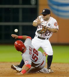 Jose Altuve Photos - Los Angeles Angels of Anaheim v Houston Astros - Zimbio