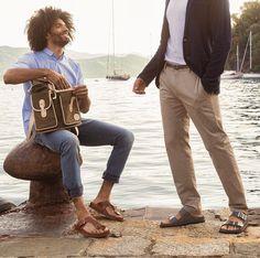 Birkenstock Men, Unisex Fashion, Khaki Pants, German, Style, Men, Deutsch, Swag, Khakis