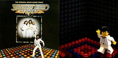 Saturday Night Fever - LEGO Album Covers