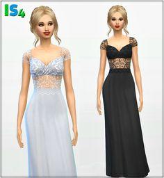 Irida Sims 4: Dress 39 • Sims 4 Downloads