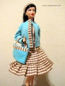 Check it out: Miss B Couture tutorials for Barbie doll clothes · Sewing | CraftGossip.com