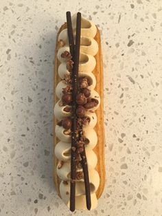Salted Caramel Eclair by Eclair to Remember
