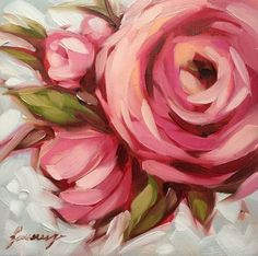 52 awesome ideas for beautiful diy art canvas - Art Painting Oil Painting Flowers, Abstract Flowers, Painting & Drawing, Abstract Art, Paint Flowers, Drawing Flowers, Acrylic Flowers, Roses Painting Acrylic, Flower Painting Abstract