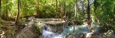 Thailand, Erawan Wasserfälle