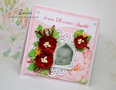 Emilia tworzy: Kartka na 18 urodziny/Birthday card