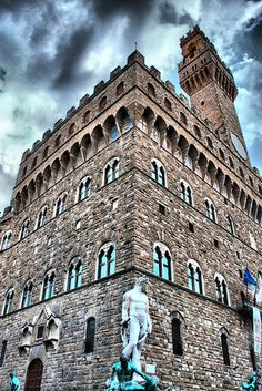 Palazzo Vecchio - Florence, Italy, province of Florence Tuscany