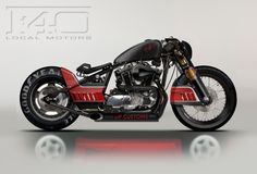 Ferrari F40-Inspired Harley-Davidson Concept