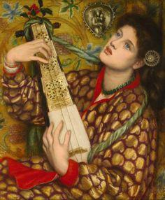 Dante Gabriel Rossetti. A Chritsmas Carol. Only Artists : Photo