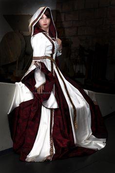 Renaissance Brautkleid