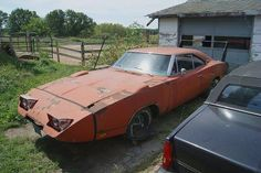 This car restored would bring over a million dollars and it does make you wonder why people would leave a car like this...