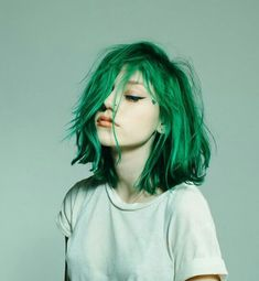 37 Awesome hair color makes you so different and beautiful - yeslip - hair dye center . - 37 Awesome hair color makes you so different and beautiful – yeslip – hair dye, color, DIY, half - Hair Dye Colors, Cool Hair Color, Hair Colour, Dye My Hair, New Hair, Hair Inspo, Hair Inspiration, Character Inspiration, Coloured Hair