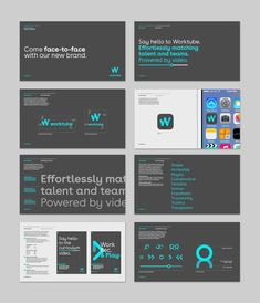 Brand creation for a new online job search business Corporate Design, Branding Design, Logo Design, Graphic Design, Corporate Identity, Logo Guidelines, Design Guidelines, Brand Guidlines, Online Job Search