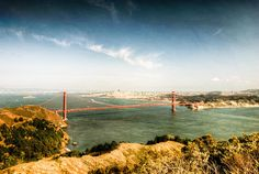 Golden Gate Bridge full pan