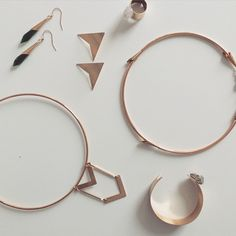 Having a clean design moment #minimalist #jewelry #jewelrybybethlauren #design #madeindc #igdc #handmade