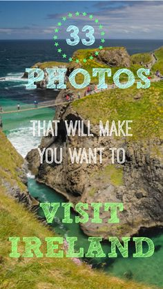 33 photos that will make you want to travel to Ireland. This is 33 best travel photos of Ireland. I don't think I have ever met a fellow traveler that hadn't manifested the perfect road trip around Ireland and placed it onto their travel bucket list. The emerald isle has an allure that draws people from all corners of the world to it's bright green shores, including us. See all 33 photos at http://www.divergenttravelers.com/33-ireland-travel-photos/
