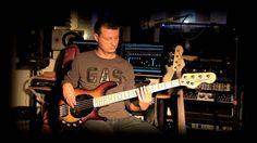 Пятиструнная активная бас гитара VINTAGE V965TSB. Инструмент находится в магазине Музснаб г.Ступино Подробнее http://www.muzsnabst.ru