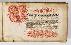 Kalligraphische Schriftvorlagen von Johann Hering zu Kulmbach - Johann Hering 1624-1634 (Bamberg) page 27