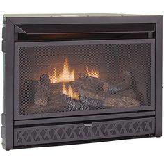 26,000 BTU Vent-Free Fireplace Insert - Dual Fuel at Menards