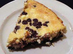 Chocolate Chip Cheesecake with Oreo Crust