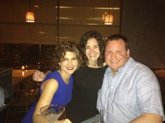 Hanging with my good friends Cynthia and Domenica.