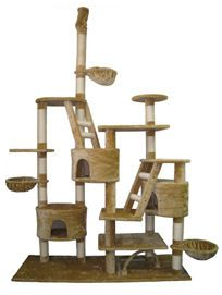 Giant Cat Tree - CrazyCatCondos.com - Cat Furniture Purrfect for kittys , Cat Condos ,Cat Gyms For Cat Climbing Kitty Napping Cat Lounging For all Cats and kittens