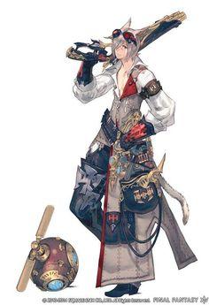 Final Fantasy XIV Machinist