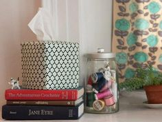DIY Art & Crafts : DIY tissue box cover