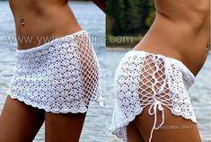 Love the crochet beach skirt idea.