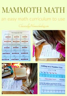 Nothing is better than an easy math curriculum for elementary kids. All you do is print and go. And that's exactly the type of math curriculum Mammoth Math is. Learn more about how Mammoth Math makes homeschooling easy! Kindergarten Homeschool Curriculum, Homeschool Curriculum Reviews, Teaching Math, Homeschooling, Easy Math, Simple Math, Fun Math, Elementary Math, Math Lessons
