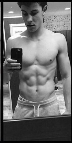 Shawn Mendes shirtless - don't care that he's 18 even a little bit! All kinds of legal! LOL