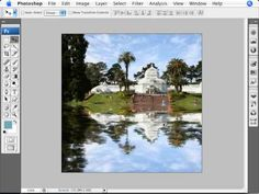 Learn Photoshop - How to Simulate Water Reflection