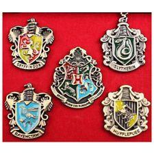 Harry Potter Hogwarts/Gryffindor/Hufflepuff/Ravenclaw House Crest Badge Pin UK