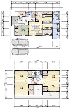 42坪5LDKランドリールームのある間取り | 理想の間取り Small Apartment Plans, Small Apartments, House Floor Plans, Layout, Flooring, How To Plan, Architecture, Interior, Yahoo