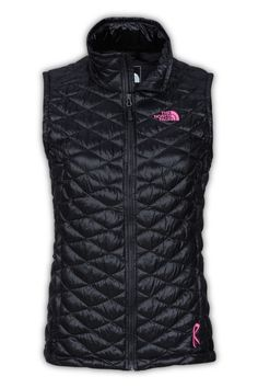 408ec6e12185d The North Face Women s Pink Ribbon Thermoball Vest. We ve teamed up with  Boarding