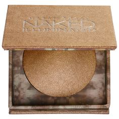 What it is:A lightweight, baked powder for face and body with a sophisticated, microfine shimmer that instantly leaves skin with an iridescent shimmer. What it does:Dust on Urban Decay's Naked Illuminated Shimmering Powder for Face and Body to give