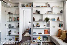 Revista Arquitetura e Construção - Tudo tem lugar certo no apê de 30 m²