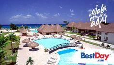 En el hotel Allegro Cozumel encontrarás búngalos estilo polinesio, así como un concepto Todo Incluido que te permitirá pasar unas inolvidables vacaciones en la isla de Cozumel. Esta propiedad de 301 habitaciones, está situado a la orilla de la playa y dentro de sus instalaciones dispone de tres piscinas y amplios jardines que le brindan un toque muy caribeño. #OjalaEstuvierasAqui