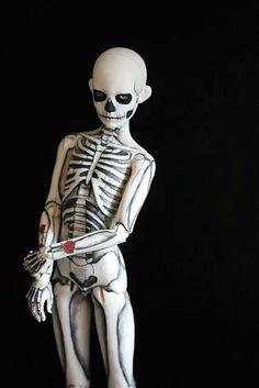 "© Kat Caro  Skeleton Boy (as inspired by ""Zombie Boy"" Rick Genest)"