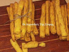 Νηστίσιμα κριτσίνια καρότου από τη Σόφη Τσιώπου Carrots, Banana, Cookies, Fruit, Vegetables, Food, Daddy, Deco, Crack Crackers