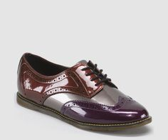 Docs - POLINA PURPLE+PEWTER+CHERRY RED SPECTRA PATENT