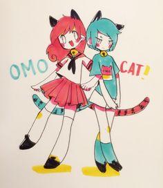 Those omoneko kids are cute @_omocat pic.twitter.com/R8LMrplY8u