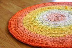 tangled happy: Rag Rug
